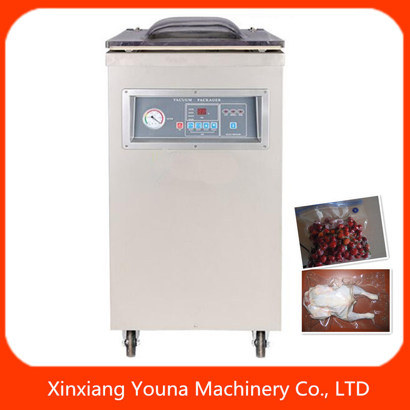 DZ400/500 single chamber food vacuum packager for fish/meat/rice/grain/fruit