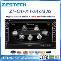 ZESTECH black high performance car dvd player for chery A3 A5 TIGGO SPERANZA car dvd player with Bluetooth/RDS/A8 chipset