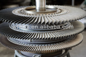 Superalloy turbine wheel used for gm locomotive parts