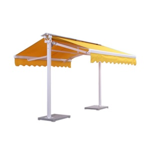 Fashionable Design Double Open Awning Aluminum Retractable Awning