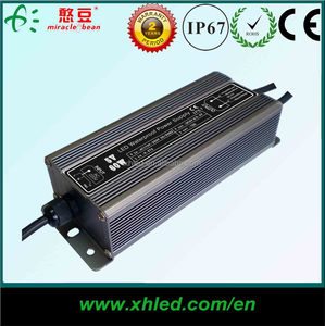 CE ROHS IP67 Waterproof Constant Voltage 60W 24 volt dc power supply for LED sign