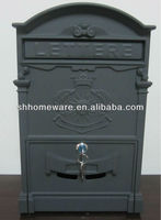 mailbox posts cast aluminum