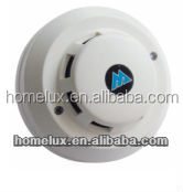 NO.NC selectale, smoke detector with 85db alarm
