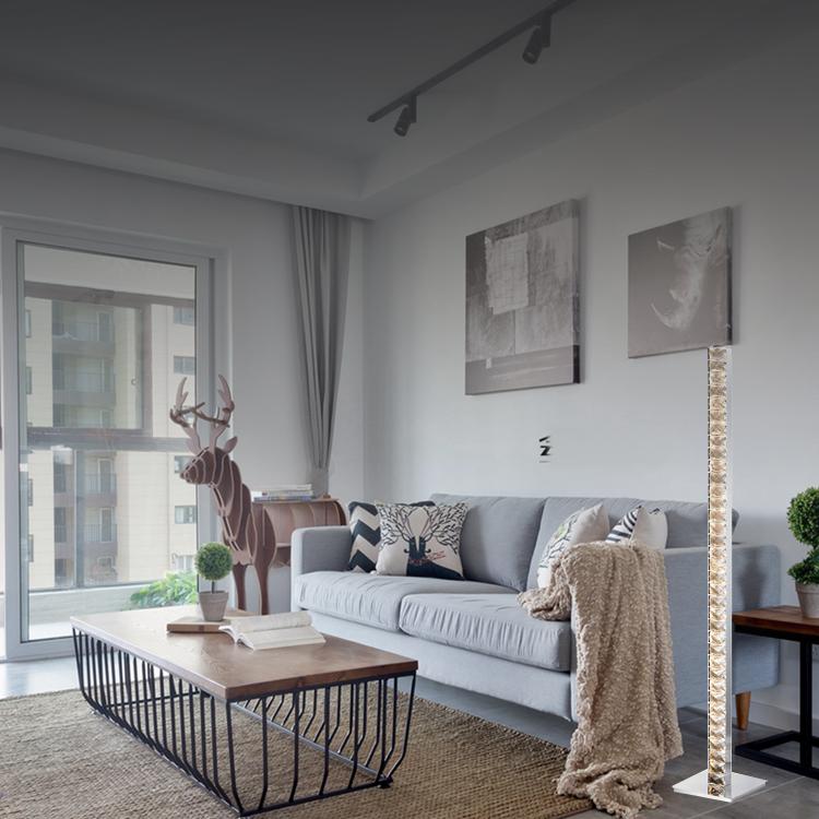 패션 럭셔리 스탠드 램프 홈 북유럽 가정용 플로어 램프
