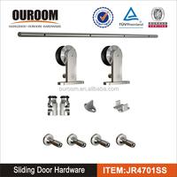 unique design heavy duty sliding glass door with grills hardware