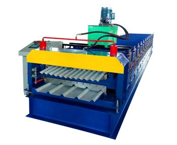 Double Layer Roll Forming Machine rollformers Metal Roofing Corrugated Steel Sheet Wall Panel tile making machine