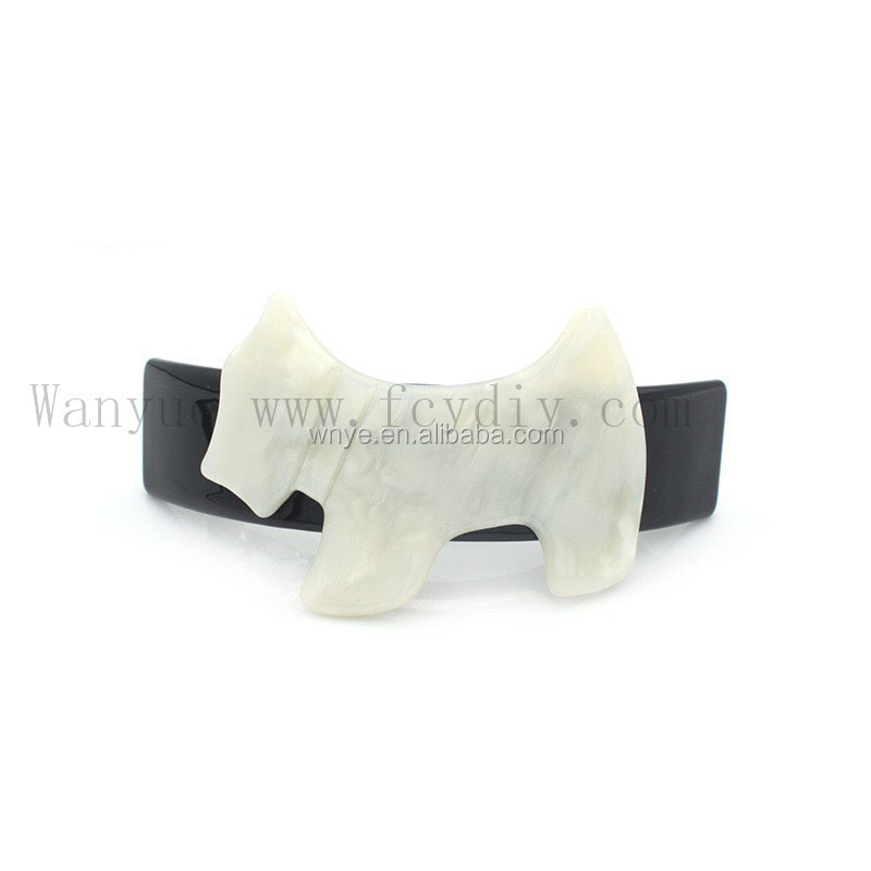 Custom Design Dog Exclusive Style Hair Barrette Clips Wholesale