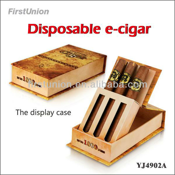 Disposable electric cigar one enjoy electronic cigarette