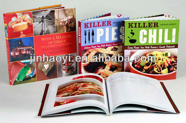 Spiral Bound Recipes Book Printing/ Printing Kitchen Cooking Book