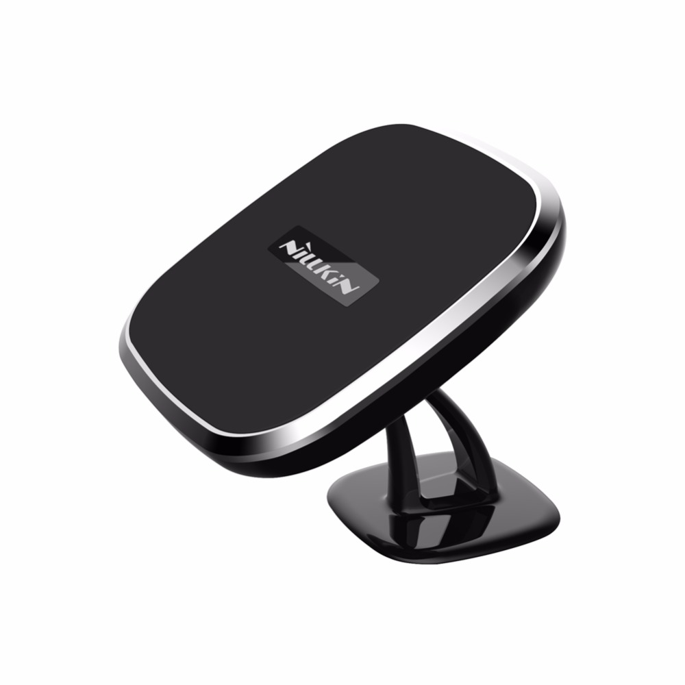 2 in 1 wireless charger car holder with magnet mobile phone holder for car