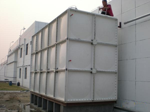 10000 litre section water tank /fiberglass water filter tanks