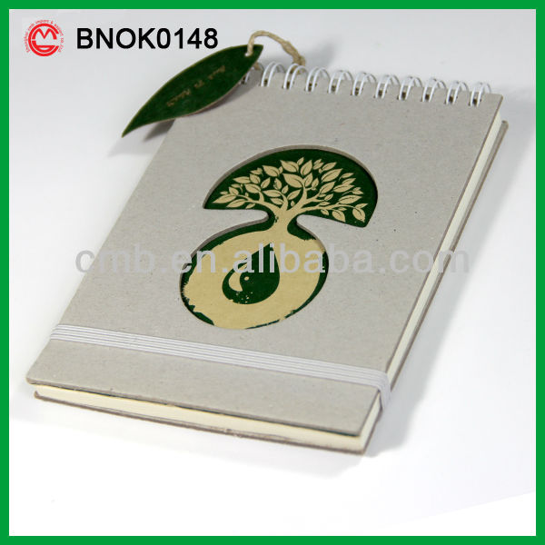 A6 RECYCLED PAPER JOURNAL NOTEBOOK