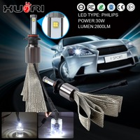 2017 top sale auto 30W 9005 car led headlight kits H1 H4 H3 H11 H15 H16 headlight for toyota fortuner headlamp bulbs