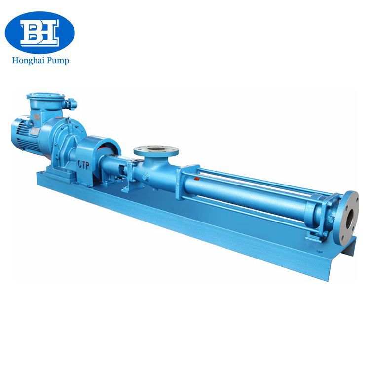 Hot sale horizontal G type screw pump transfer food