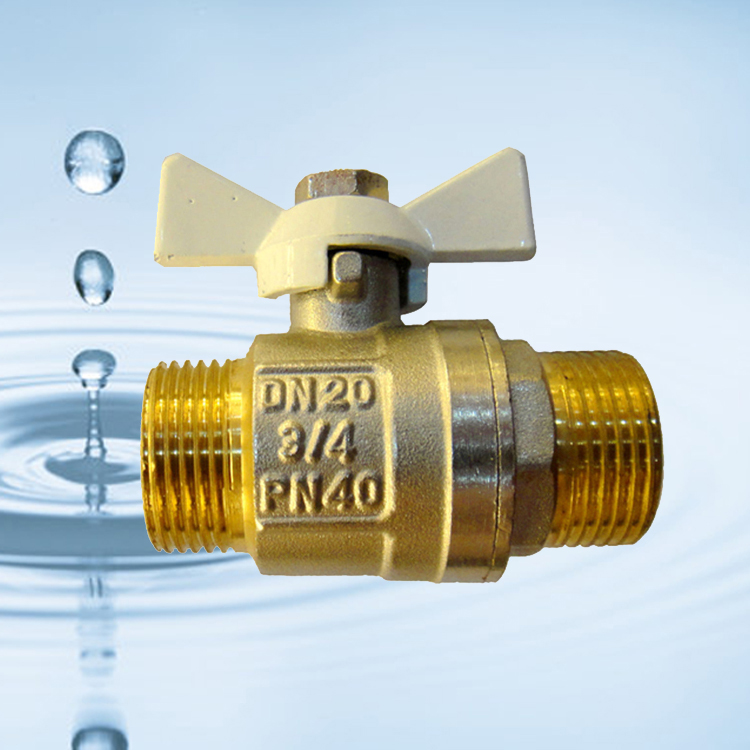 Dn 50 2 Pc Pn 16 Floating Brass Ball Valve For Gas