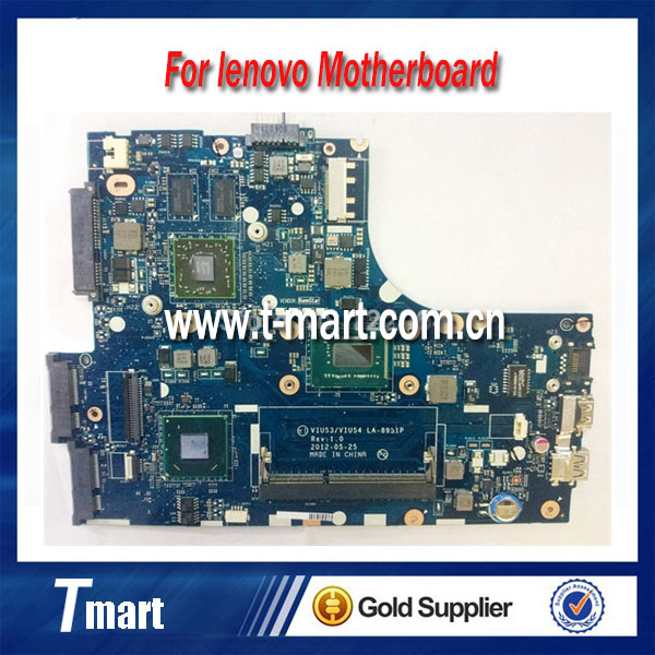 High quanlity Laptop Motherboard For lenovo S400 i5-3317U CPU VIUS3 VIUS4 LA-8951P Mother board