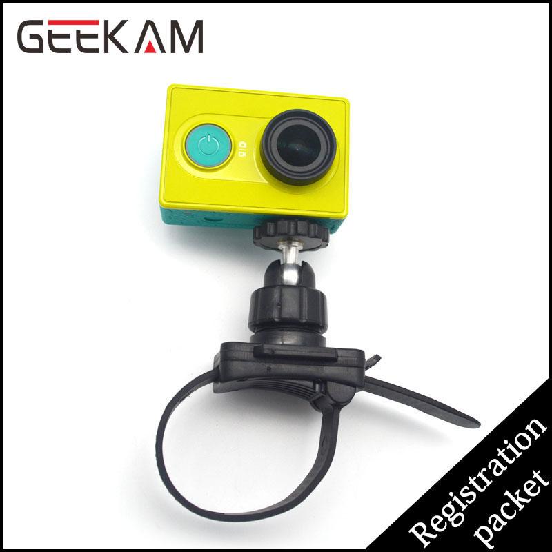 GEEKAM Велосипедное крепление адаптер Quick Release Почтовый Рулевой Стиль Ремень Крепление для Штатива крепление для Велосипеда Штанга для GoPro HD Hero Действий Cam