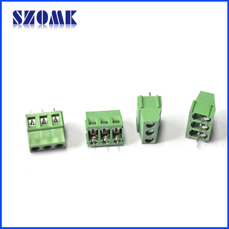 30a Wire Clamp Terminal Block 5.0mm Pcb Screw Terminal Block ...