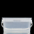 4 Liter 100% Virgin PP Square Bucket With Lids