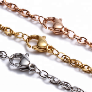 Yiwu Aceon Stainless Steel Fashion Jewelry Accessory Women Use Double Line Cable Chain
