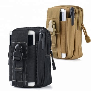 Multi-Purpose Poly Tool Holder EDC Pouch Camo Bag Military Nylon Utility Tactical Waist Pack Camping Hiking Pouch