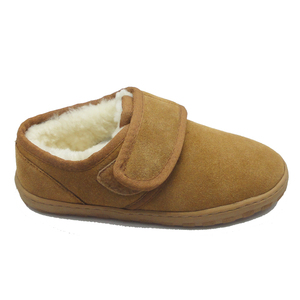Factory sheep wool medical slippers winter women for with good quality hospital slippers