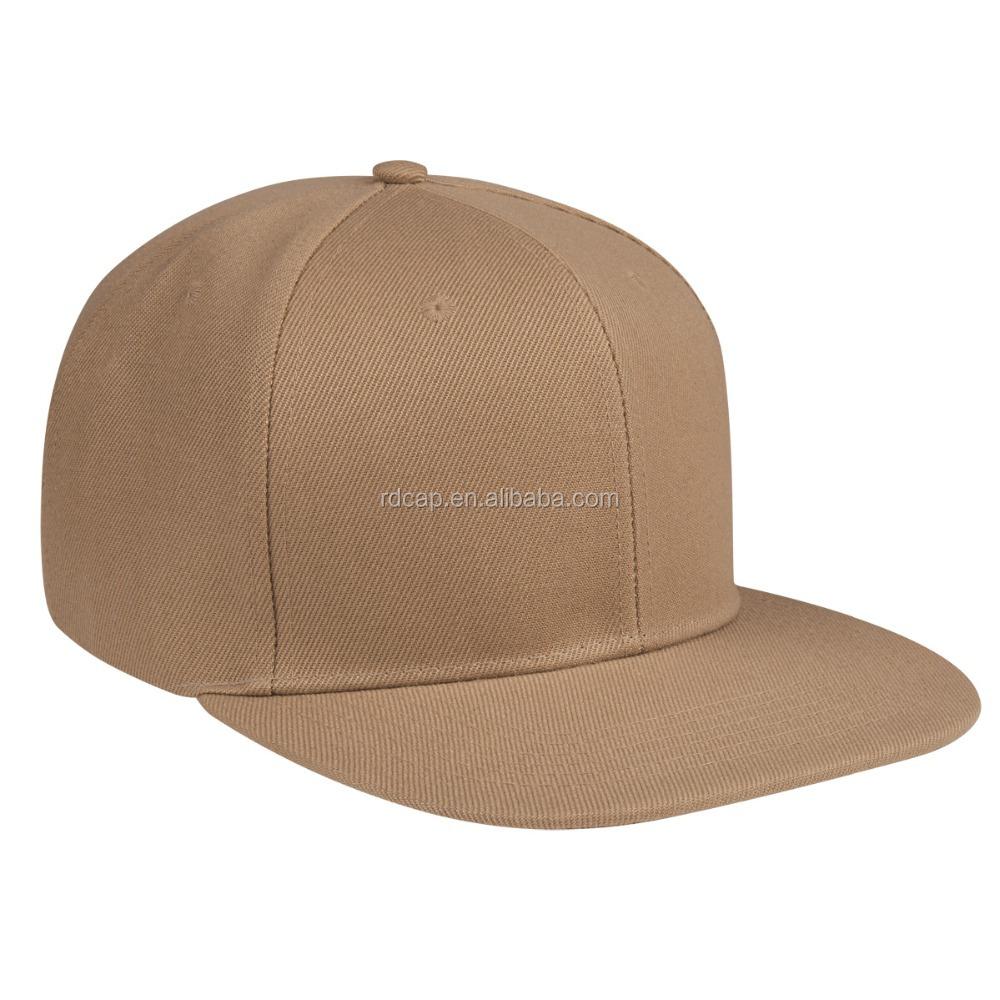 38ab95912f631 Acrylic khaki blank sports caps made in China man-carried factory wholesale  baseball cap flexfit custom