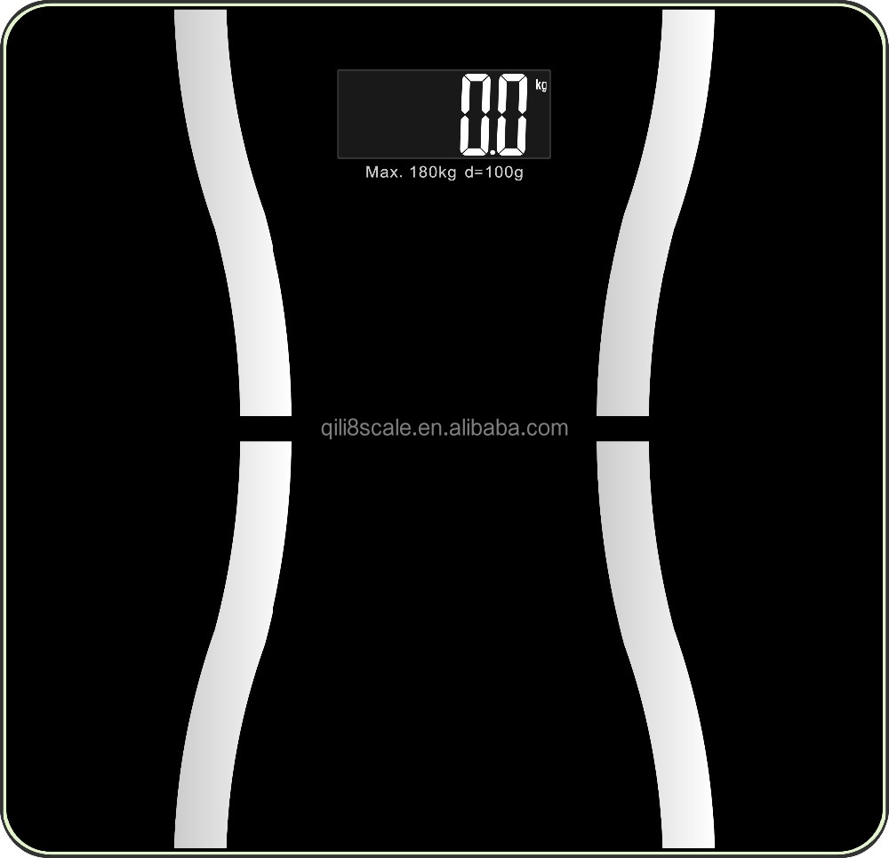 Digital weighing scale type 300kg bluetooth body fat scale