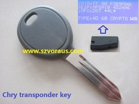 Y164 692352 CHIP 46 Transponder 46 Chip Car Ignition Key For Chrysler