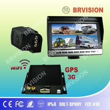 video capture usb dvr with robust IP68 wide angle camera and 10.1 inch digital monitor