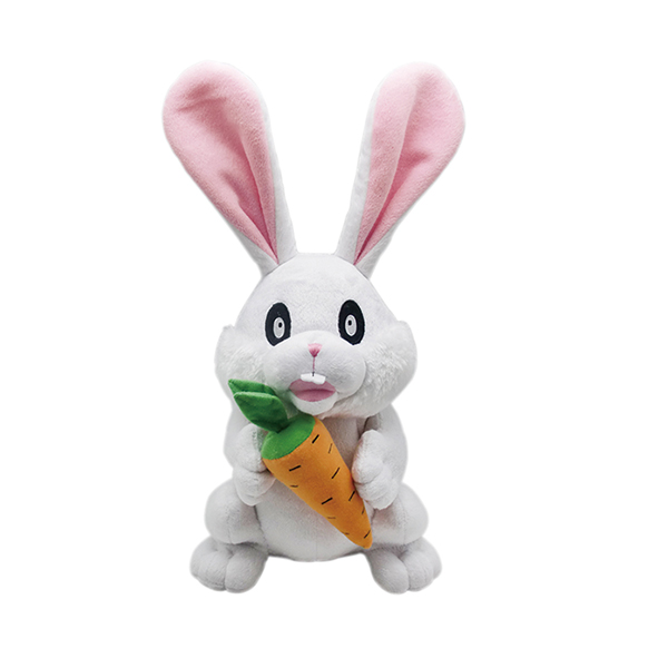 High quality soft rabbit toys plush toys bunny with carrot