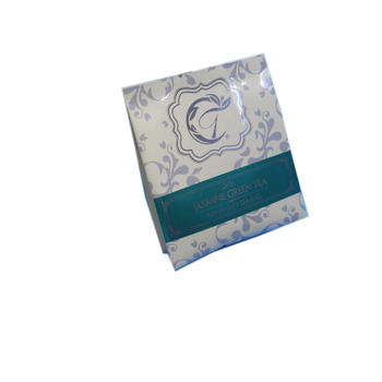 Small 3 Side Seal Bag With Food Grade Material For Coffee Green Tea Bags Individually Wred