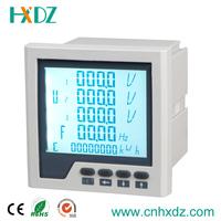 LCD Display Three Phase Multifunction Power Meter with RS-485&Mod Bus RTU,Multifunction Digital Meter