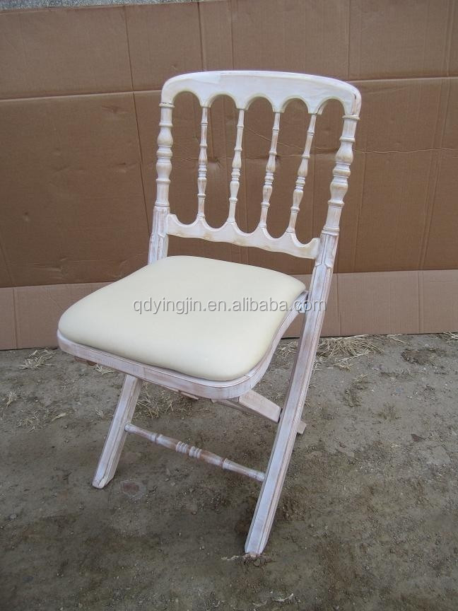 Napoleon Style Wood Folding Chateau Chair