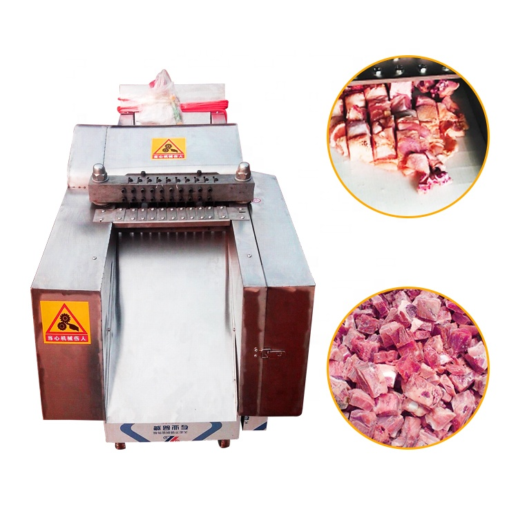 highly efficient full automatic meat slicer <strong>chicken</strong> meat cutting machine