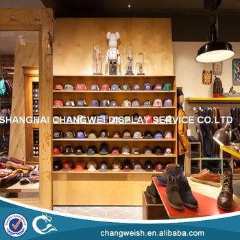 Hat Display Rack For Retail Store And Hat Display Cabinet - Buy ...