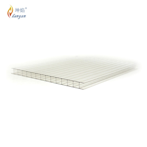 Impact resistance two layer polycarbonate sheet japan factory