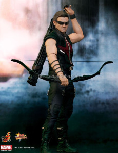 Guo hao custom hot toys marvel resin hawkeye marvel heroes