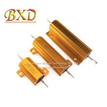 RX24 Aluminium Shell <span class=keywords><strong>Resistor</strong></span> 5W10W25W50W100W High Power <span class=keywords><strong>Resistor</strong></span> Logam <span class=keywords><strong>Resistor</strong></span>