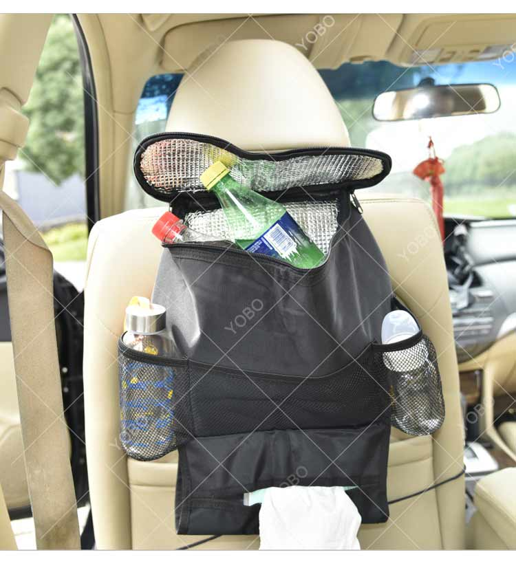 Promotion high quality oxford 600D car front seat pocket organizer