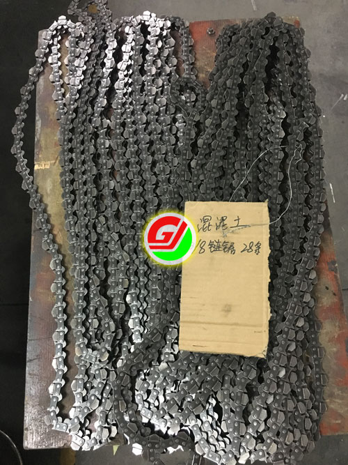 "high cost-effective 3/8"" pitch diamond chain for ICS concrete chainsaw machine"