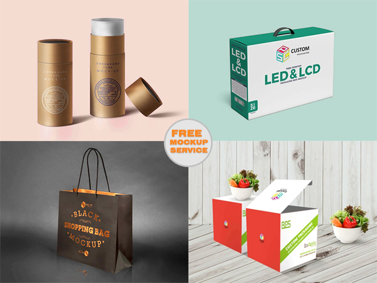 CUSTOMIZED LIGHT BULB PACKAGING LED LIGHT PAPER BOX KRAFT PRINTING LED BOX