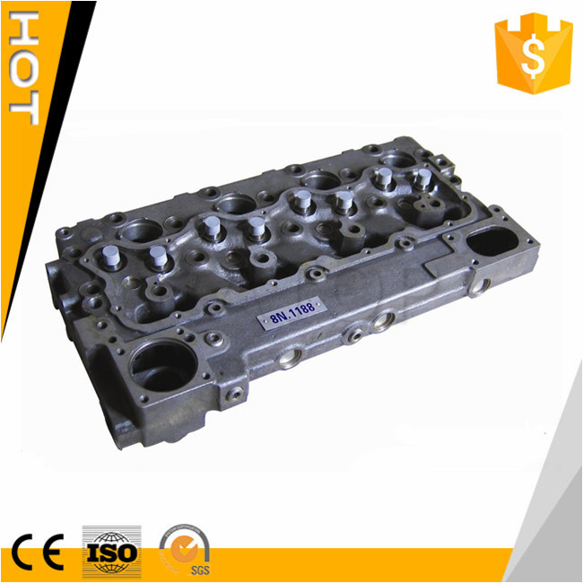 Factory supply excavator parts E3304 engine cylinder head 8N1188