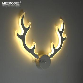 Modern Acrylic Wall Lamp Led Deer Antler Sconces Md81777 L2