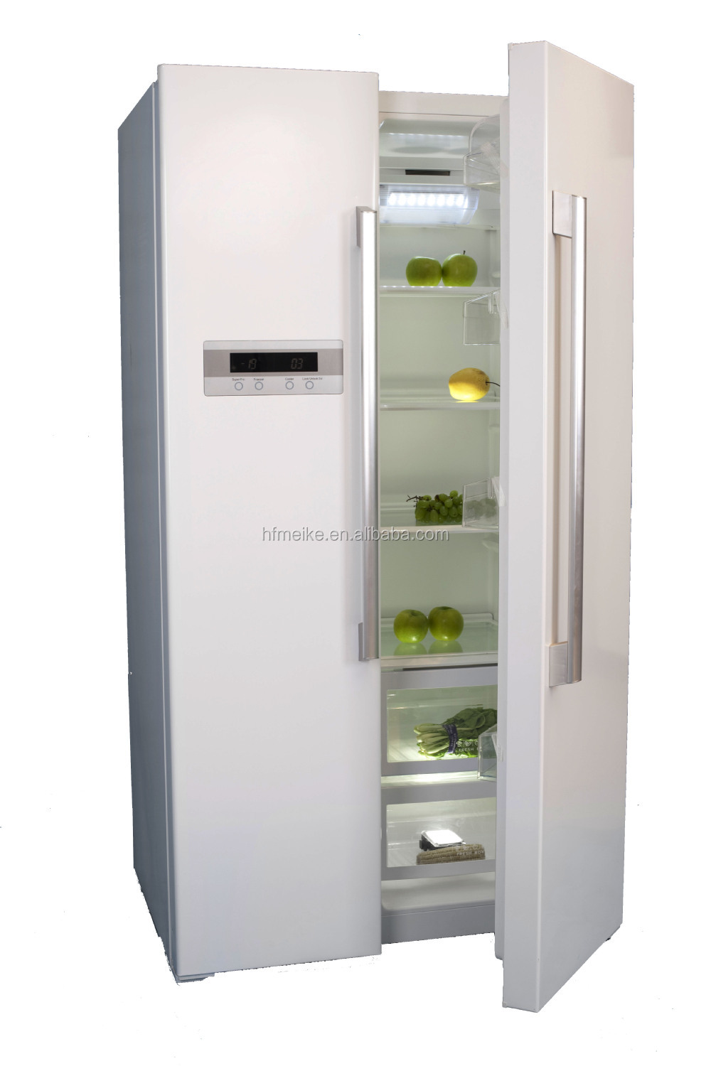 French door or side by side - High End French Door Refrigerator Mcd601w Side By Side Refrigerator