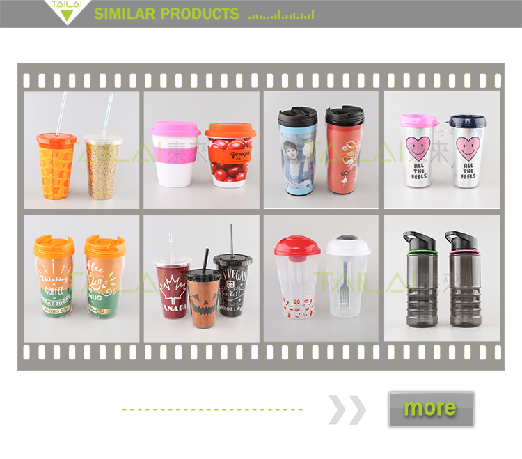 Hot selling fashionable biodegradable plastic cups with dome lids