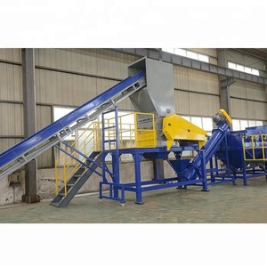 Complete waste hdpe plastic crusher