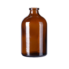 High Quality 100ml Amber Glass Vial For Chemical