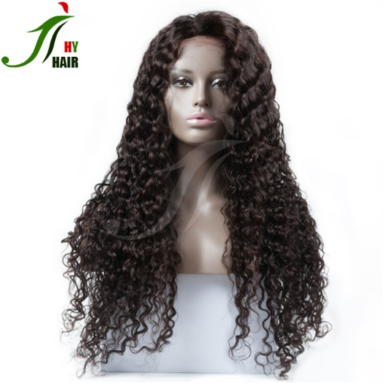 2016 New Fashion 150denisty 100 Remy Human Hair Brazilian African Dreadlocks Wig Lace Front Wig Kinky Curly
