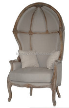 French style original and comfortable wood egg chair new design leisure chair for home or office